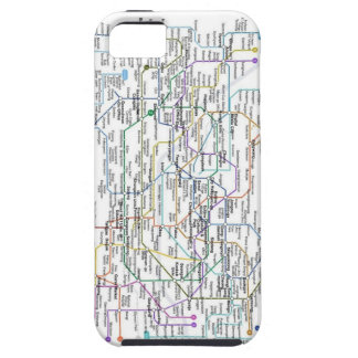 Seoul Subway Map iPhone 5 Cases
