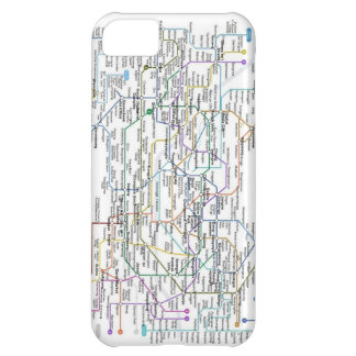 Seoul Subway Map Cover For iPhone 5C