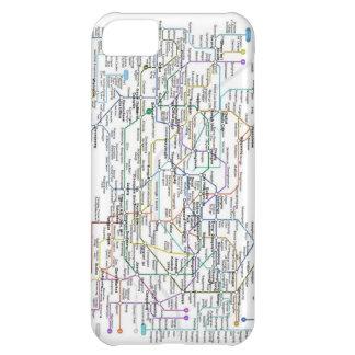 Seoul Subway Map iPhone 5C Cases