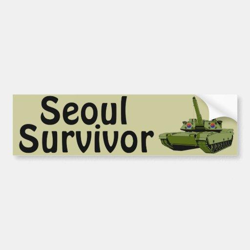 Seoul Survivor Bumper Stickers