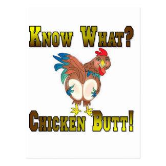 ¿Sepa lo que?  ¡Extremo del pollo! Postales