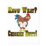 ¿Sepa lo que?  ¡Extremo del pollo! Tarjetas Postales