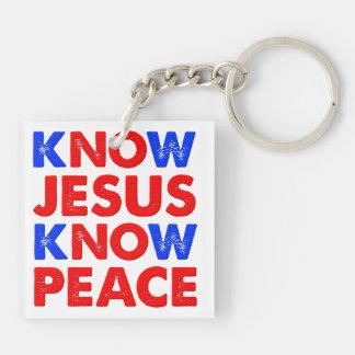 Sepa que Jesús conoce el llavero del cristiano de