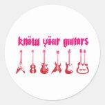 Sepa su guitarra - roca alternativa del Grunge de Pegatina Redonda