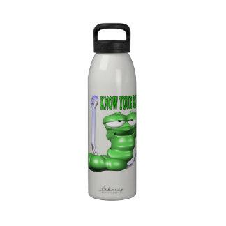 Sepa su papel botellas de beber