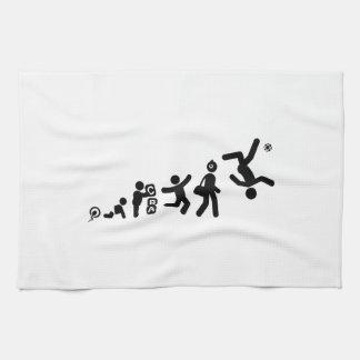 Sepak Takraw Kitchen Towels