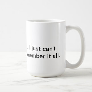 """Sépalo toda la"" taza de café"
