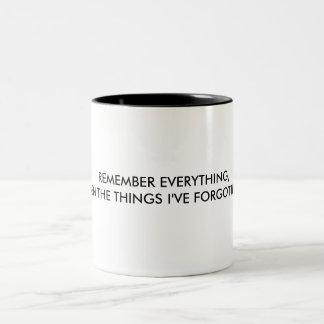Sépalo todo taza de café de dos colores