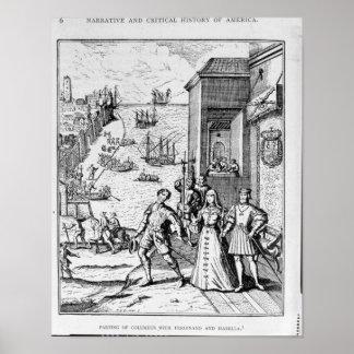 Separación de Columbus con Fernando y Posters