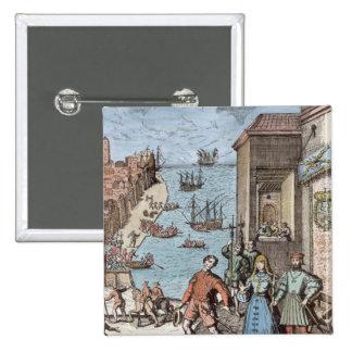 Separación de Columbus con Fernando y Pin Cuadrada 5 Cm