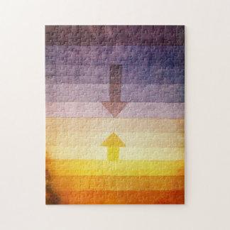 Separación de Paul Klee en el rompecabezas de la t