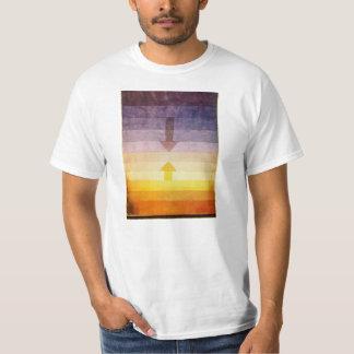 Separación de Paul Klee en la camiseta de la tarde Playeras