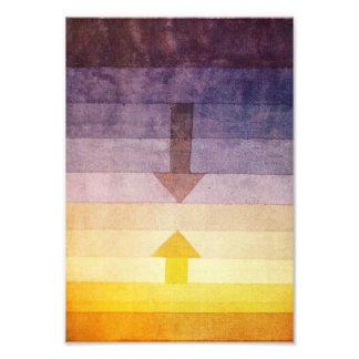 Separación de Paul Klee en la impresión de la foto Cojinete