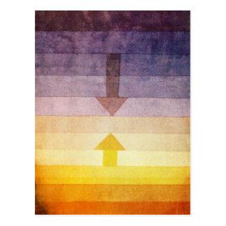 Separación de Paul Klee en la postal de la tarde