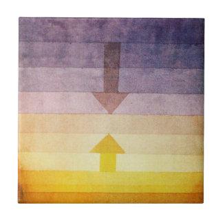 Separación de Paul Klee en la teja de la tarde