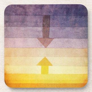 Separación de Paul Klee en los prácticos de costa  Posavasos