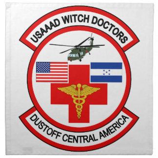 Separación USAAAD de la ambulancia aérea Servilleta Imprimida