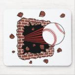 Separador del béisbol tapete de ratones