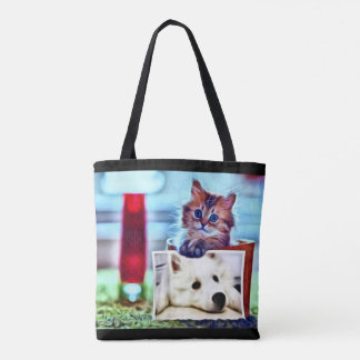 Separate Differences Tote Bag