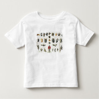 Separate Pieces of a Knight's Armour, plate 15 fro Toddler T-shirt