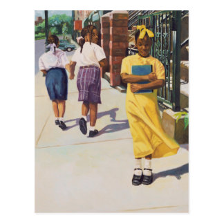 Separate Ways 2001 Postcard