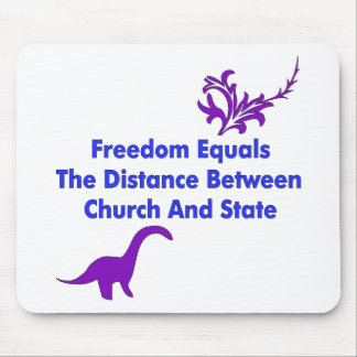 Separation of Church and State Mouse Pad