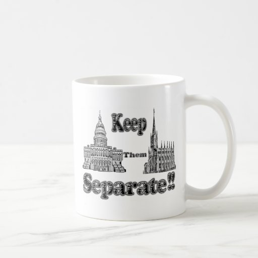 Separation of Church & State Mug