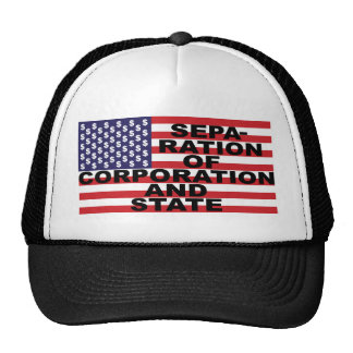 Separation of Corporation and State Trucker Hats