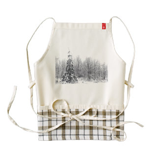 separation with certainty zazzle HEART apron