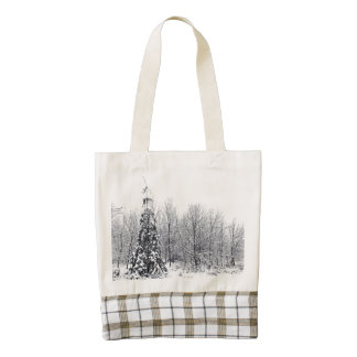 separation with certainty zazzle HEART tote bag