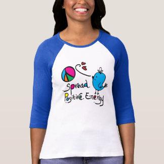 Separe a las señoras positivas de la energía 3/4 r tee shirts