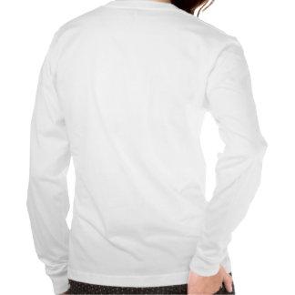SEPARE camisa de manga larga del cisne de