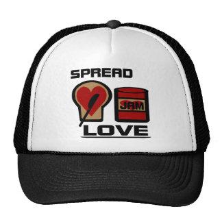 Separe el amor con la botella del atasco del amor  gorro de camionero