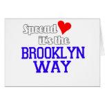 Separe el amor la manera de Brooklyn Tarjeta
