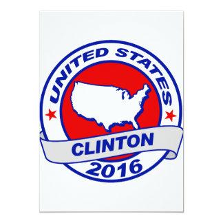 """separe el voto Hillary Clinton 2016.png Invitación 5"""" X 7"""""""