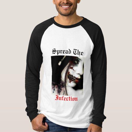 Separe la camisa de la infección
