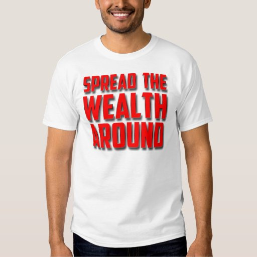 Separe la riqueza alrededor playera