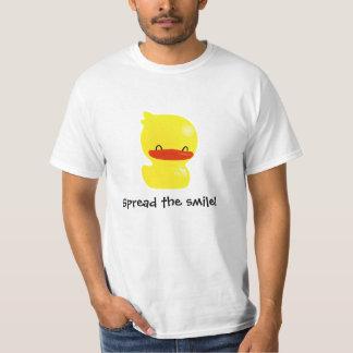 ¡Separe la sonrisa! Camiseta Ducky