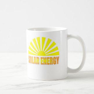 Separe la taza de la energía solar de la sol