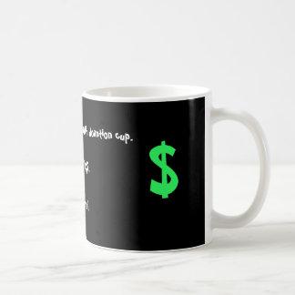 Separe la taza de la riqueza