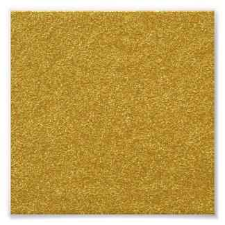 Separe los guijarros del amarillo del polvo de oro fotografia