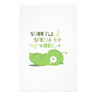 Separe mis alas personalized stationery