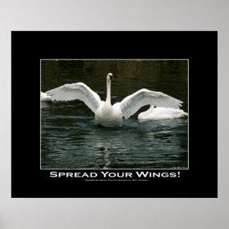 SEPARE SU impresión de la foto del cisne de las