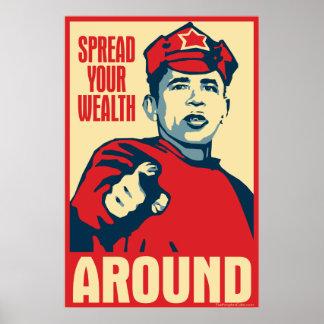 separe su riqueza alrededor: Poster de la parodia