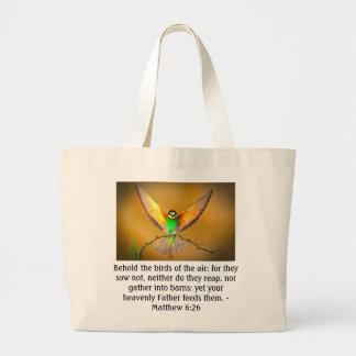 Separe sus alas bolsas de mano