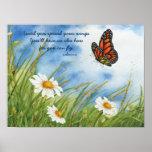 Separe sus alas - poster del monarca