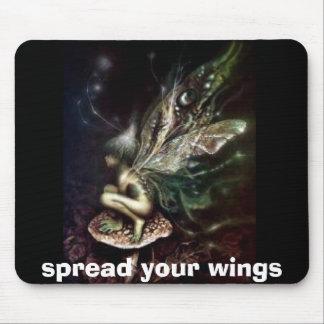 separe sus alas tapetes de ratón