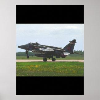 Sepecat Jaguar Interna_Aviation Photography II Poster