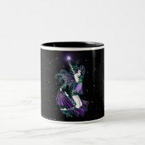 myka, jelina, gothic, sepheria, fairy, fantasy, coffee, mug, fae, science fiction, Mug with custom graphic design