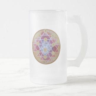 Sephirot Frosted Glass Beer Mug